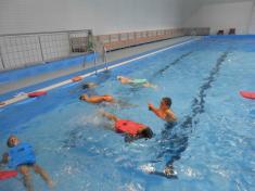 Výuka plavání 2.B a 3.A